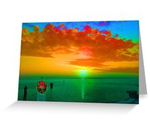 Holiday on the Gulf Greeting Card