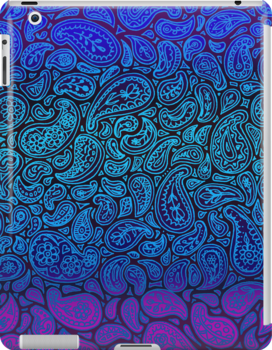 Purple Paisley by micklyn