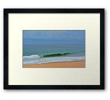 Salt Water. Framed Print