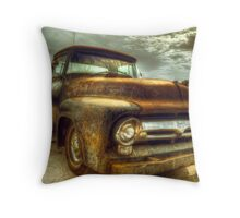 Vintage Ford Pickup Truck Throw Pillow