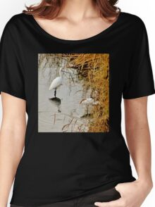 Egrets in the Evening Women's Relaxed Fit T-Shirt