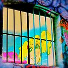 Melbourne Graffiti Street Art - Girl in Jail by NicNik Designs
