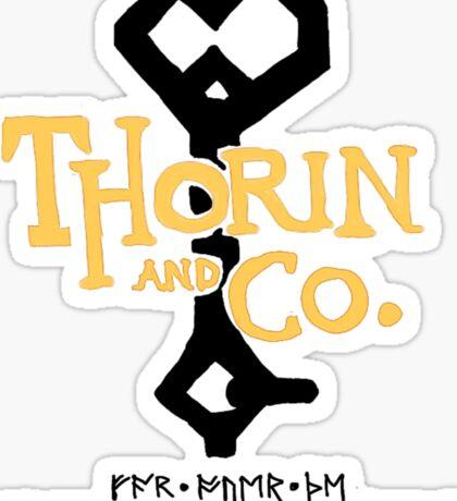 thorin and company Sticker
