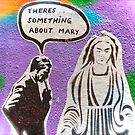 Melbourne Graffiti Street Art There's Something about Mary by NicNik Designs