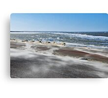 Stormy weather.... 3 Canvas Print