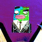 Square Man - Graffiti - Street Art by NicNik Designs