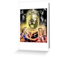 Reptile Warrior Greeting Card