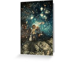 Stargazing Greeting Card