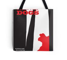Reservoir Dogs minimalist movie poster Tote Bag