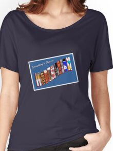 Everything Is Fine In Moderation Women's Relaxed Fit T-Shirt