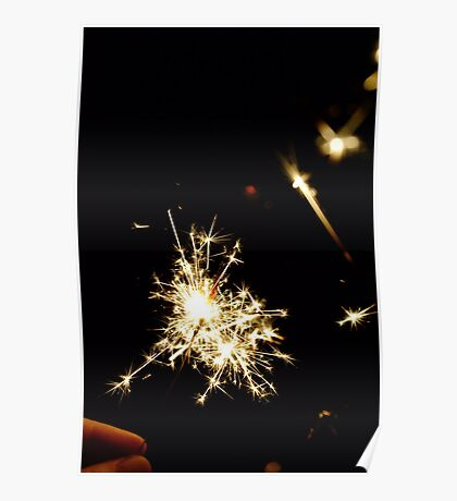Let your life sparkle Poster