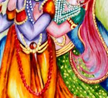Krishna Leela Sticker