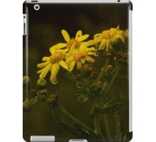 Rainy Yellow Flowers iPad Case/Skin