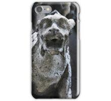 gargoyle, Notre Dame, Paris iPhone Case/Skin