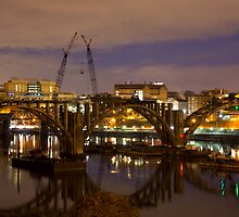 Henley Street Bridge Renovation by photodug