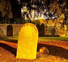 December Light, Churchyard, Wivelsfield Green by Beverley Goodwin
