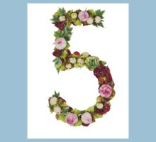 The number Five Part of a set of letters, Numbers and symbols Kids Clothes
