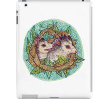Pair of opossum iPad Case/Skin