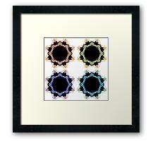 Digital Abstract # 10 Framed Print