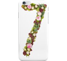 The number Seven iPhone Case/Skin