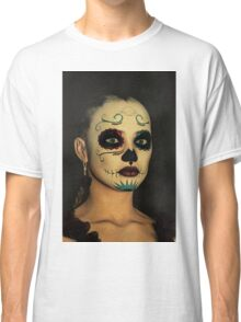 Sugar Skull - Day Of The Dead Face Paint Classic T-Shirt