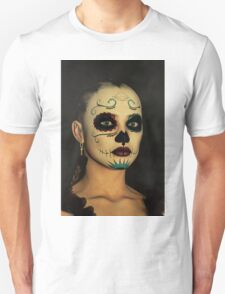 Sugar Skull - Day Of The Dead Face Paint Unisex T-Shirt