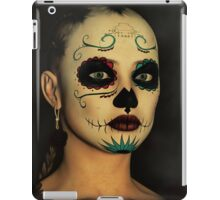Sugar Skull - Day Of The Dead Face Paint iPad Case/Skin