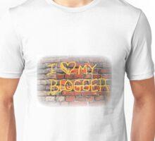I Heart My Blogger Unisex T-Shirt