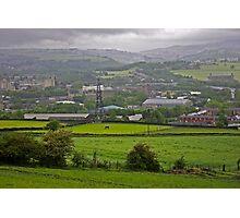 Elland, Yorkshire Photographic Print