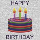 BIRTHDAY CAKE by JukeBoxHero