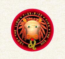 Leo zodiac astrology by Valxart  Zipped Hoodie