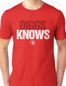 Discreetly Greek - Diggs Knows - Nike Parody Unisex T-Shirt