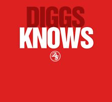 Discreetly Greek - Diggs Knows - Nike Parody Unisex T-Shirt