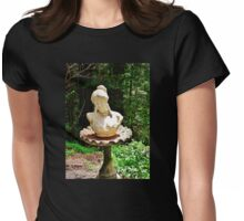 The Beauty in the Birdbath Womens Fitted T-Shirt