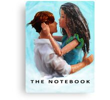 A Plastic World - The Notebook Canvas Print
