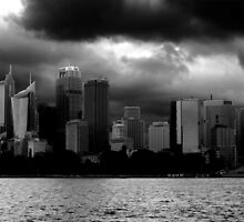 Storms over Sydney by dombrown