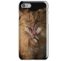 Yawn! I'm tired of modelling! iPhone Case/Skin