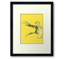 Pursuing my TRUE SELF, Persona 4 Framed Print