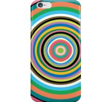 Graphic Art - Modern Colorful Rings iPhone Case/Skin