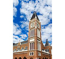 Perth Town Hall Photographic Print