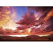 Sunset Drama's Photographic Print