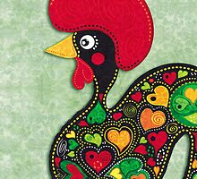 Barcelos Rooster  by silvianeto