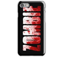 Zombie Case iPhone Case/Skin