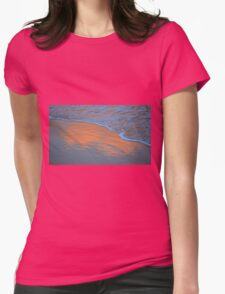 The Sky in the Sand. Womens Fitted T-Shirt