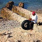 Fishing by Karmyn Tyler Cobb