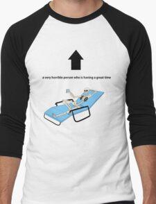 GPOY Men's Baseball ¾ T-Shirt
