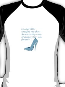 cinderella shoe T-Shirt