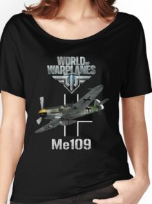 World of Warplanes Me109 Women's Relaxed Fit T-Shirt