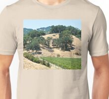 A California Vineyard During the Drought Unisex T-Shirt