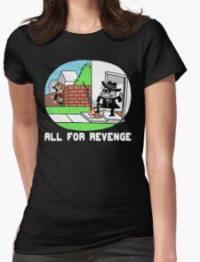 All For Revenge Womens Fitted T-Shirt